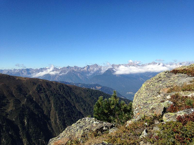 Bergpanorama Pitztal