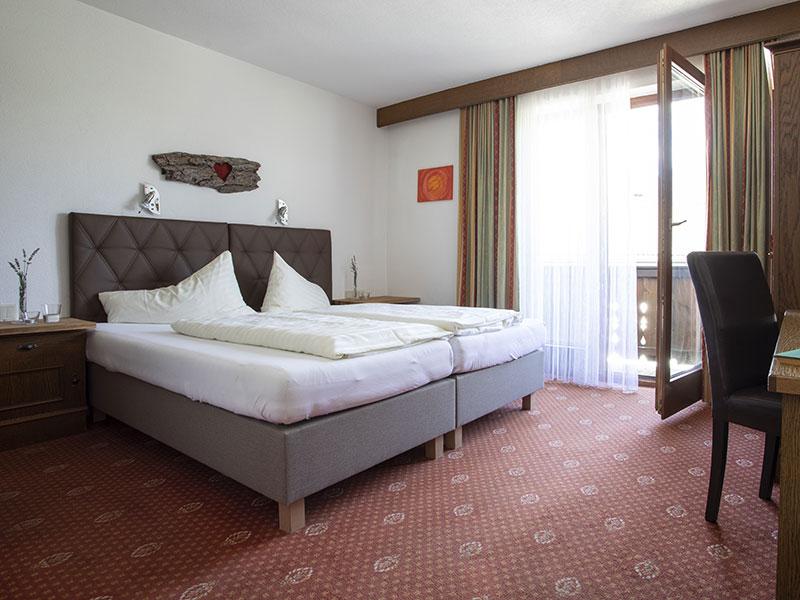 Doppelbett –Doppelzimmer Typ A