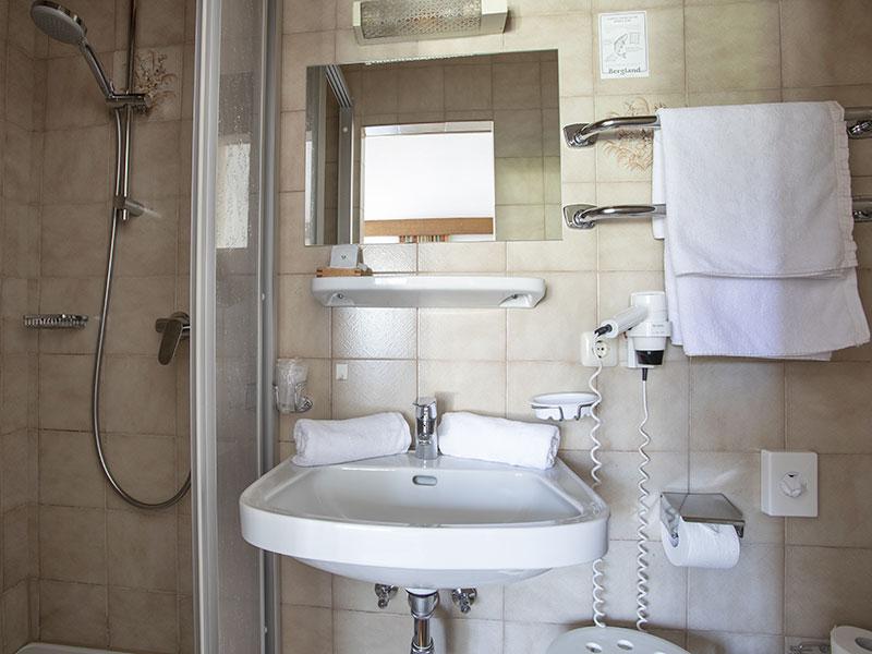 Badezimmer –Doppelzimmer Typ A