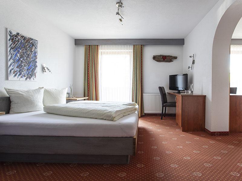 Doppelbett –Familienzimmer